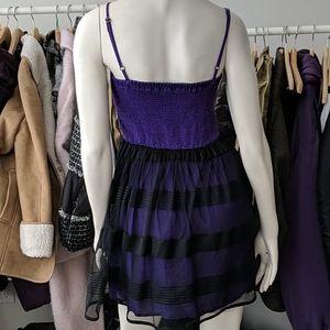 Aeropostale Dresses - 5/$45 Black & Purple Bustier Dress